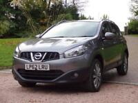 NISSAN QASHQAI 1.5 TEKNA DCI 5d 110 BHP FREE DELIVERY TO YOUR DOO (grey) 2013