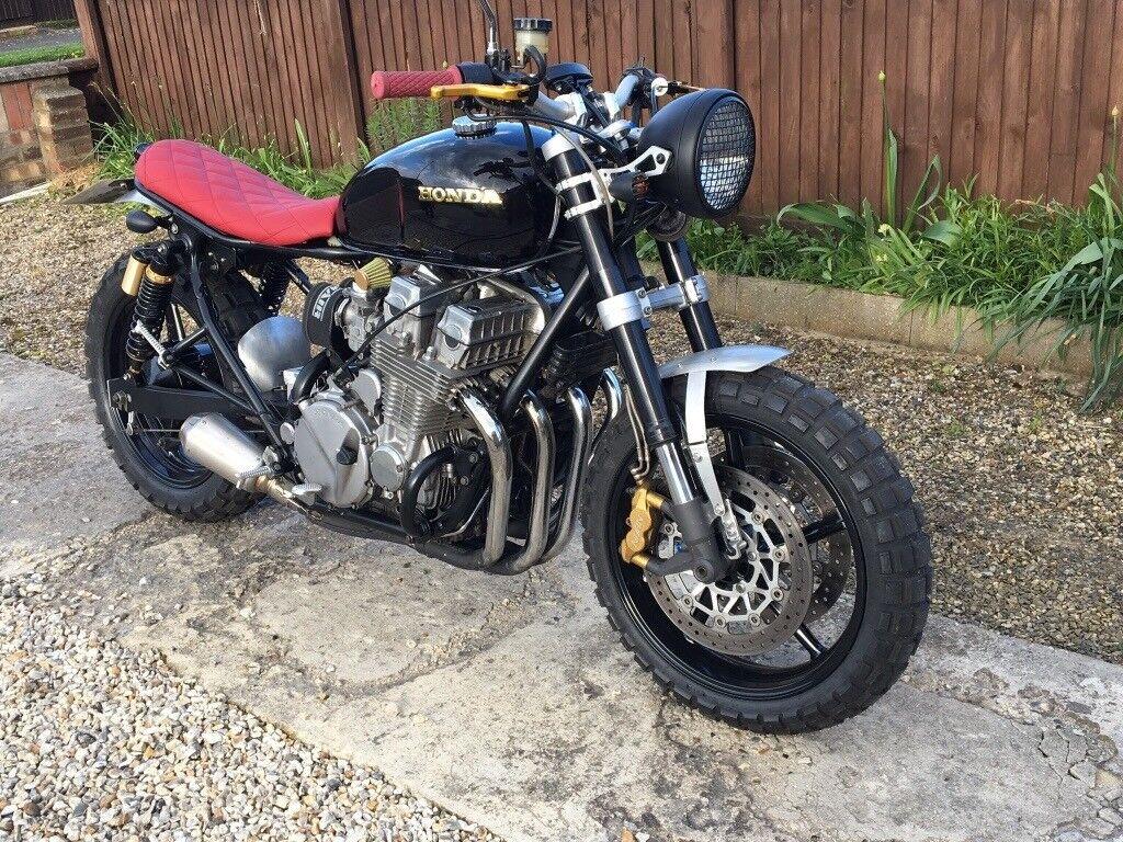 Honda Cb750 Scrambler Cafe Racer Brat Street Motorcycle Motorbike