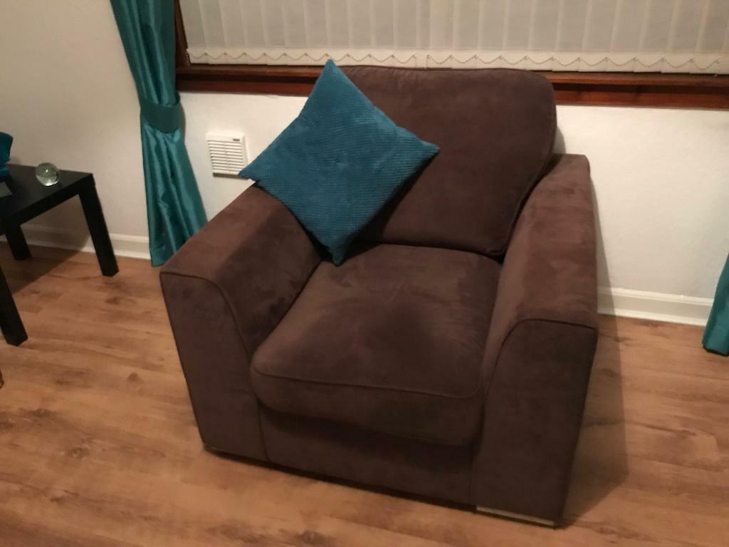 DFS 3 Seater Sofa & Chair