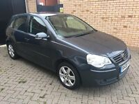 ***AUTOMATIC*** VOLKSWAGEN VW POLO 1.4 MATCH - 5 DOOR - FSH - LOW MILEAGE (87K) - MOT - VGC – GREY