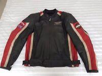 Leather Motorcycle Jacket - Genuine Triumph Rivton
