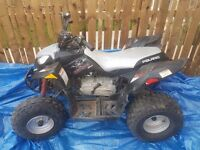 Quad bike 90cc sollaris kids big bike very reliable kick start petrol selling as moved house