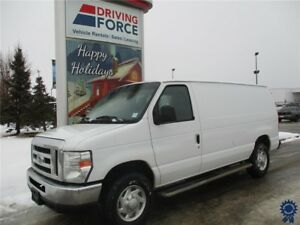 2013 Ford E-250 Econoline Commercial Cargo Van, 4.6L V8 Gas
