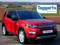 Land Rover Discovery Sport SD4 HSE LUXURY (red) 2016-03-13