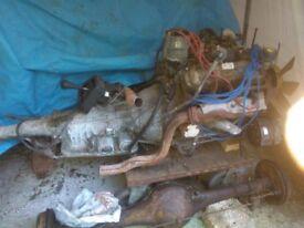 2.9 V6 engine with autobox