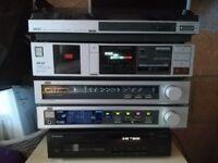 Vintage hi-fi separates system