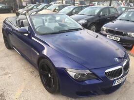 BMW M6 5.0 V10 SMG 2dr HUGE SPEC SAT NAV