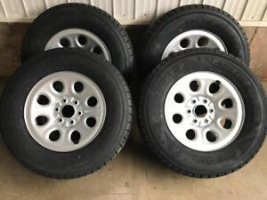 New GM truck 265/70R17 winter tire/rim package!