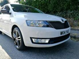 Skoda Rapid TSI 105 only 12800 miles