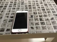 iPhone 7 in red 128gb on ee