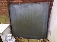 2 slabs of slate old pool table base upcycle garden bench?