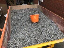 £2 for 12L bucket full of decorative stone chippings.
