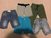 Boys shorts and joggers age 6-7