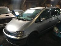 All parts for sale car breakers scrap yard Ford Galaxy Lx Tdi Silver Diesel Kent spare parts