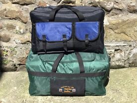 Travel bags/ suitcases -2 large holdalls (price is for both)