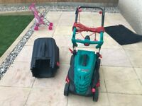 Bosch Rotak 370RE Lawnmower almost new (Tadpole Garden, North Swindon)