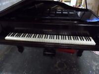 baby grand piano by challen 5ft