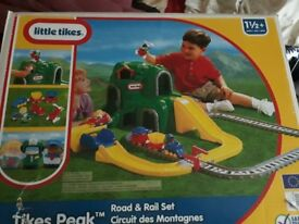 Little tikes road and rail set. Still in box. Only £15 if it goes today.