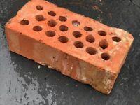Reclaimed clay bricks