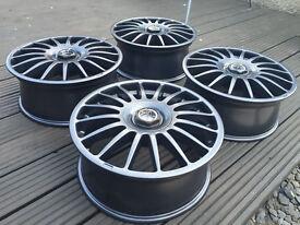 """17"""" TSW Imola Alloy Wheels - 4x100 VW Golf Mk2 BMW E30 not BBS Azev"""