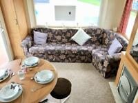 Cheap Static Starter Caravan For Sale At Sandy Bay With Beach Access & 12 Month Season