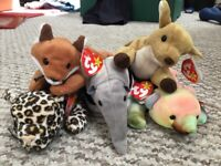 Beanie babies (Original) - New 5 available