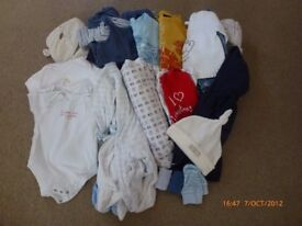 Assorted boys clothes - 3-6 months (Box 3)