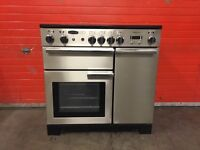 Rangemaster range electric cooker professional plus 90 induction 3 months warranty free local delive
