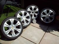 "17"" ALLOYS 4X108 4X100 ET25 CITROEN PEUGEOT FORD - VAUXHALL ROVER VW AUDI SEAT - I WILL POST"