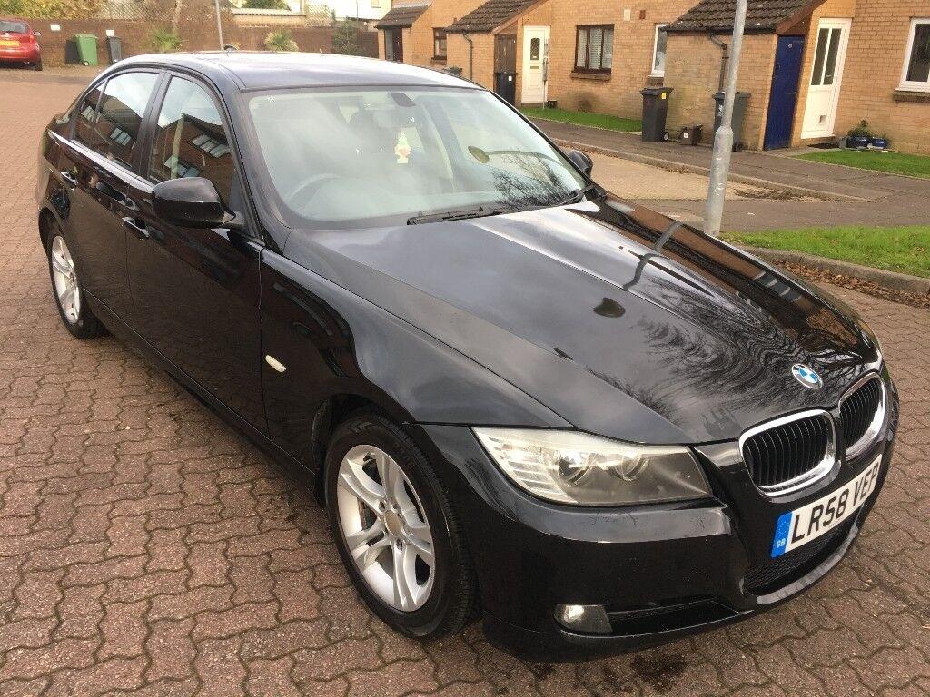 BMW 318i ES Saloon 2.0 Petrol, 6 Spd Manual, 08/58 Reg, MOT 27th Sept 2018, Full S/Hist, 4 Dr, Black