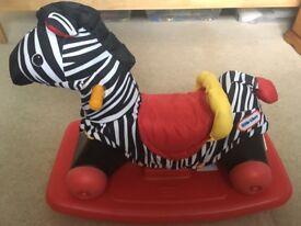 Little Tikes Rock n Scoot Zebra