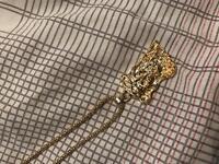 Gold Jesus piece chains
