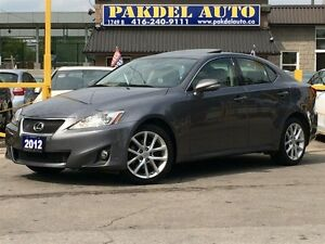 2012 Lexus IS 250 AWD*ACCIDENT FREE*NAVI*CAMERA*TECH PKG*BLUETOO