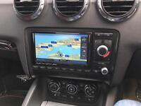 Audi TT RNS-E Sat Nav Unit