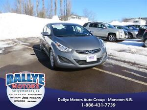 2014 Hyundai Elantra GL! Heated! ONLY 51K! Trade-In! Save!
