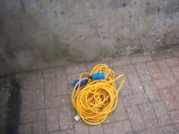 motorhome /caravan/campervan 25 metre electric lead