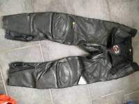 "Leather Biker Jeans 32""W ( Hein Gericke,NEW )"