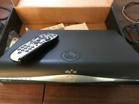 HD SKY PLUS box - with remote and leads