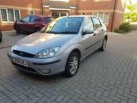 Ford Focus Zetec 1.6l Petrol