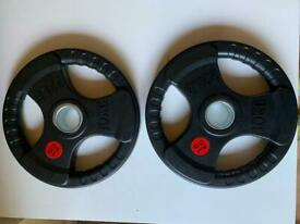Olympic weight plate 10 kg pair