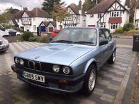 BMW 325 I SE AUTO Blue 1990