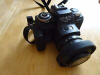 35mm vintage Minolta camera 110 200m SLR mark 2 - £55 ONO