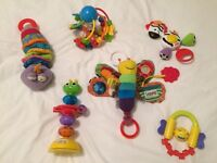 BUNDLE OF NEWBORN / YOUNG BABY TOYS. VGC