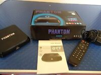 Phantom Android TV Ultra HD MBox Quad Core