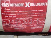Life Raft Off Shore
