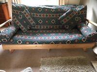 Futon/sofa bed - sleeps two