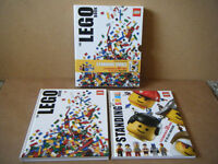 """""""The Lego Book & Standing Small"""". 2 great books in sleeve. Excellent condition."""