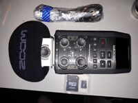 Zoom H6 recorder and audio interface