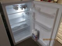 LESS THAN FIVE MONTHS OLD - BEKO UL483APW UNDER THE COUNTER LARDER FRIDGE IN WHITE