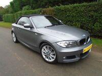 BMW 1 SERIES 118I M SPORT 2.0 2dr - EXCELLENT CONDITION AUTO CABRIOLET!
